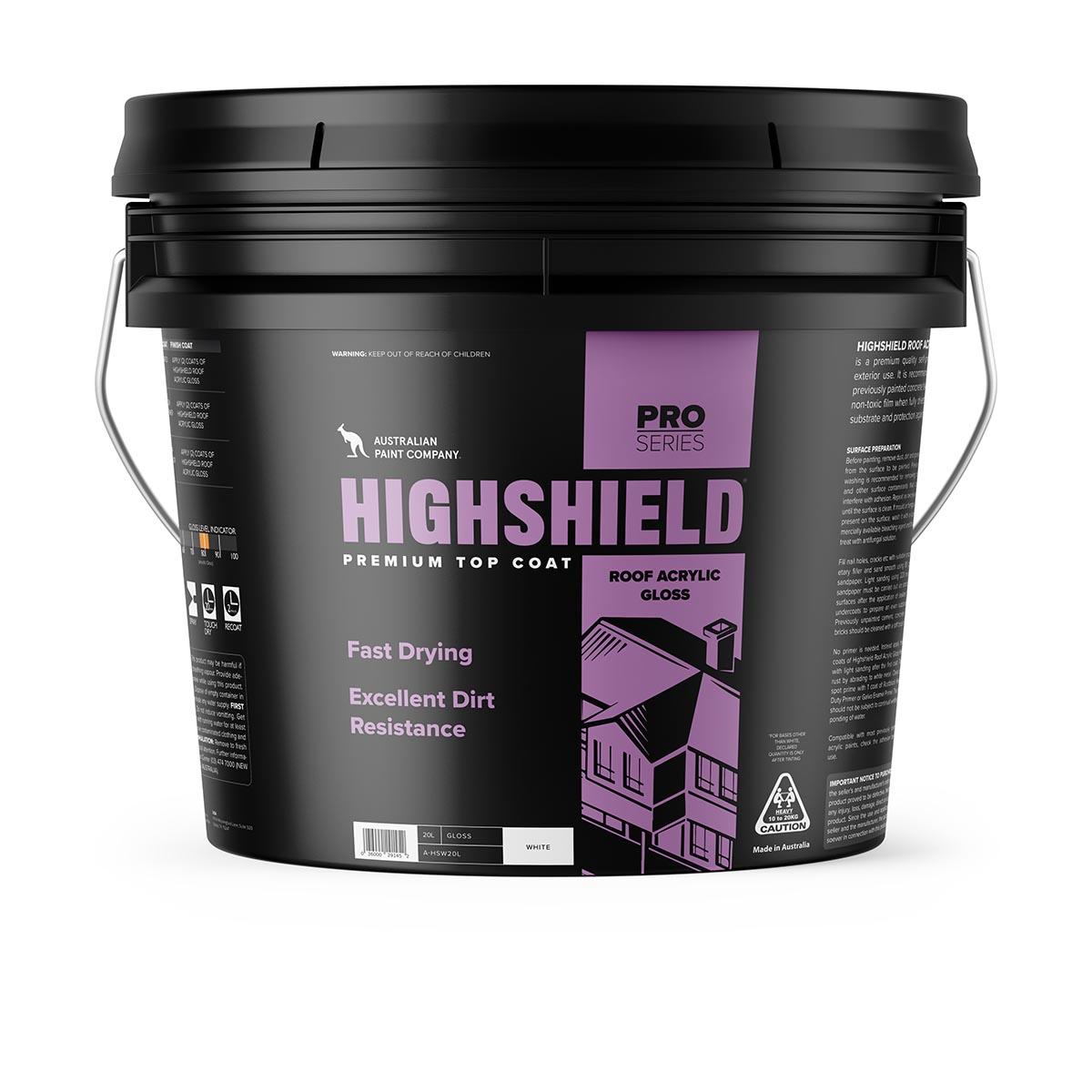 Highshield premium top coat