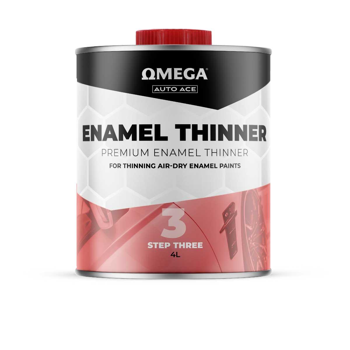 Omega Auto Ace Enamel Thinners 4lt