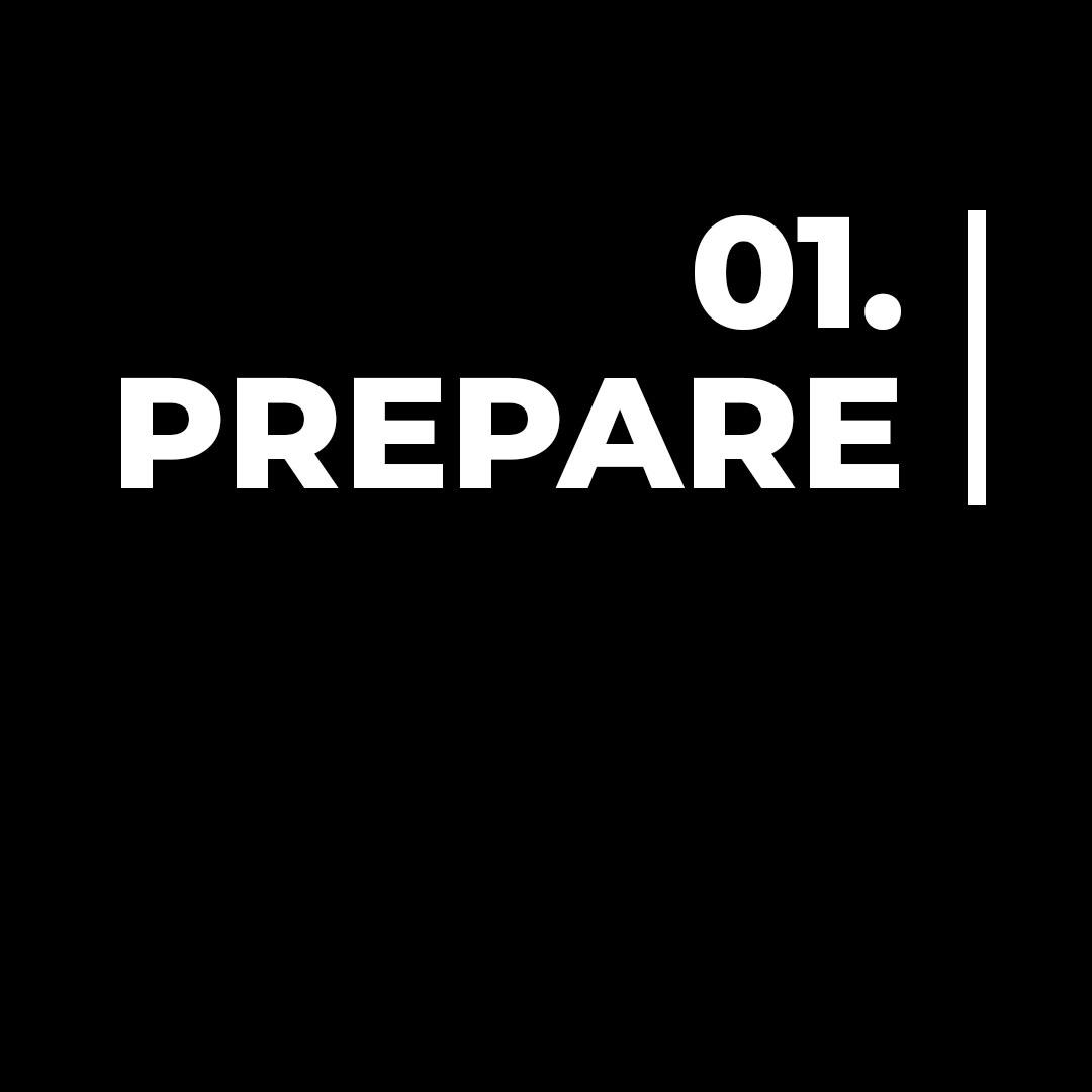 Step 1 | Prepare