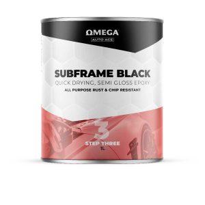 Omega Auto Ace Subframe Black 1lt