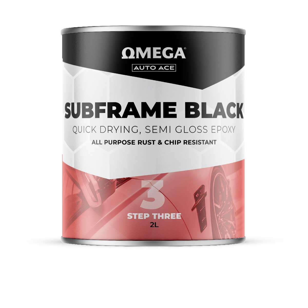 Omega Auto Ace Subframe Black 2lt